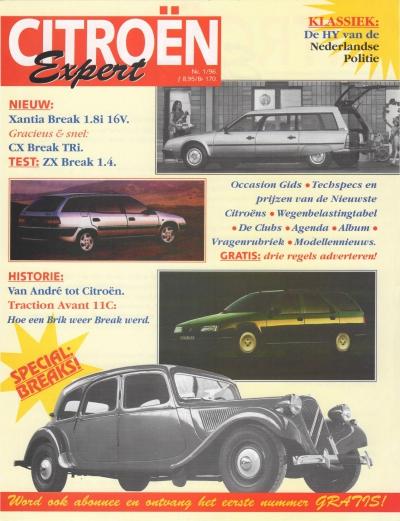 Introductieflyer Citroën Expert